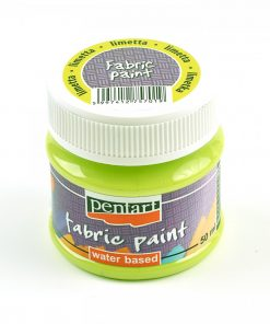 Farba na textil Pentart zelená limetka 50ml - Oma & Luj