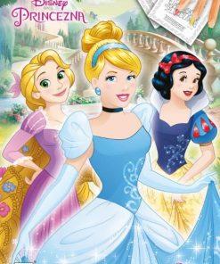 Omaľovánka A4 Disney princezné - Oma & Luj