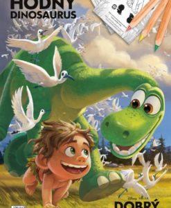 Omaľovánka A4 Dobrý dinosaurus - Oma & Luj