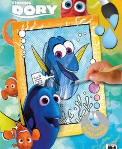Maľuj vodou A4 Hľadá sa Dory - Oma & Luj