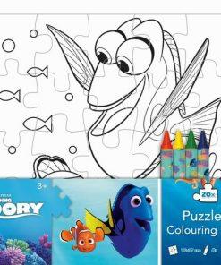 Puzzle omaľovánka Hľadá sa Dory - Oma & Luj