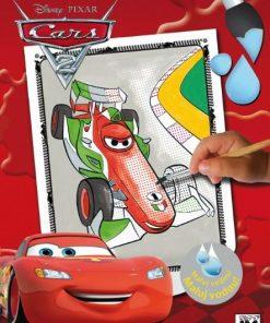 Maľuj vodou A4 Autá - Oma & Luj