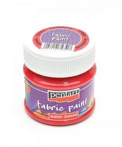 Farba na textil Pentart červená karmínová 50ml - Oma & Luj