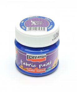 Farba na textil Pentart modrá 50ml - Oma & Luj