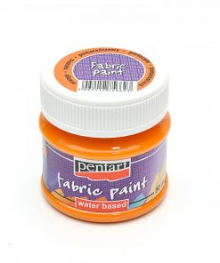 Farba na textil Pentart oranžová 50ml - Oma & Luj
