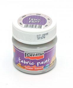Farba na textil Pentart sivá 50ml - Oma & Luj