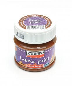 Farba na textil Pentart tmavo hnedá 50ml - Oma & Luj