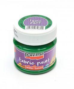Farba na textil Pentart zelená 50ml - Oma & Luj
