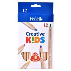 Farbičky ICO Creative kids triangle jumbo 12ksbal-Oma & Luj