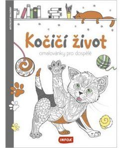 Omaľovánka pre dospelých Mačací život - Oma & Luj