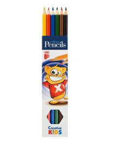 Farbičky ICO Creative kids 6ks/bal - Oma & Luj
