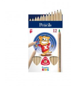 Farbičky ICO Creative kids triangle jumbo 12ks/bal - Oma & Luj