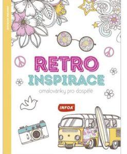 Omaľovánka pre dospelých Retro inšpirácia - Oma & Luj