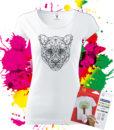 Dámske Tričko Puma Geometric - Omaľovánka na tričku - Oma & Luj