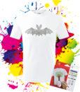 Detské tričko Netopier - Omaľovánka na Tričku - Oma & Luj