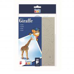 3D skladačka žirafa