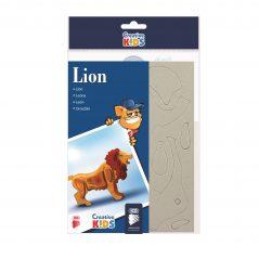 3D skladačka lev