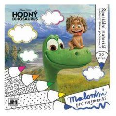 Omaľovánka pre najmenších Dobrý dinosaurus - Oma & Luj