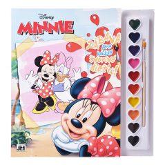 Omalovánka sa vodovými farbami Minnie