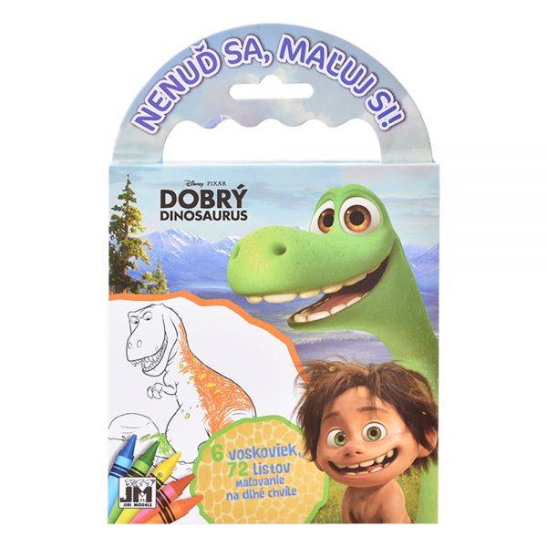 Omalovanky na cesty Dobrý dinosaurus