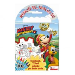 Omalovanky na cesty Mickey