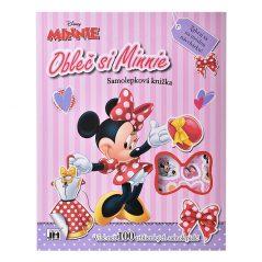 Samolepková knižka Obleč si Minnie - Oma & Luj