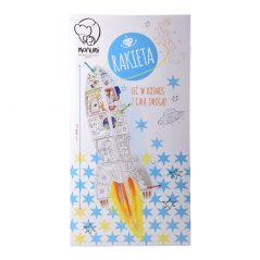 Kartónové modely Monumi raketa - Oma & Lu