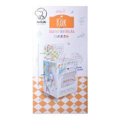 Kartónové modely Monumi šporák - Oma & Lu