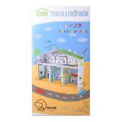 Kartónové modely Monumi domček pre chlapcov - Oma & Luj
