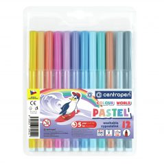Fixky Centropen 7550 pastelové vyprateľné 12ksbal- Oma & Luj