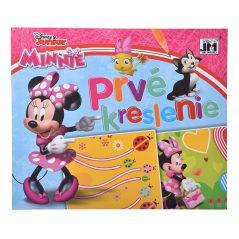 Prvé kreslenie Minnie - Oma & Luj